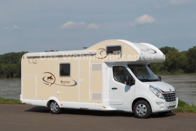 Ahorn Alkoven Wohnmobil K-Line GC Jahreswagen