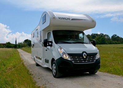 Rimor Katamarano 8 Renault Master Pris Fra: 37769,75 € Net