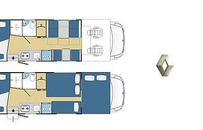 Rimor Katamarano 9 Renault Master Pris Fra: 37769,75€ Net